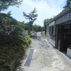 奥庭自然散策路と天狗の庭