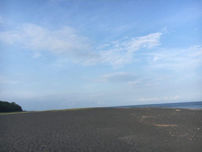 空と浜の写真