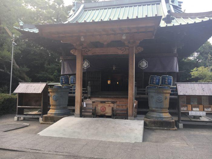 御穂神社の中の社の写真