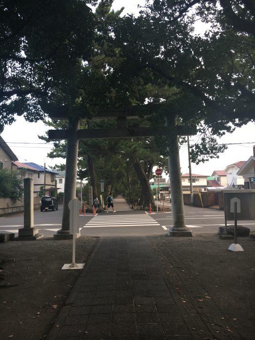 出口の写真