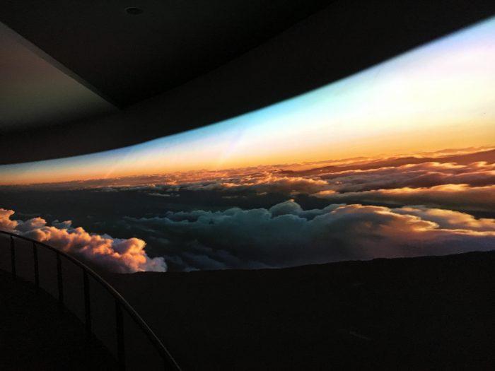 山頂風景の写真