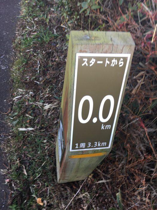 サイクリング用の看板