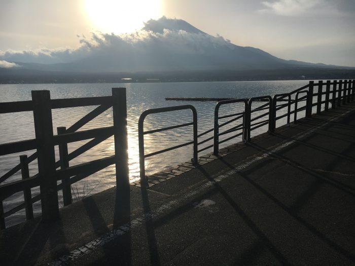 山中湖の写真