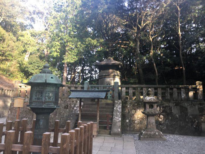 家康のお墓の写真