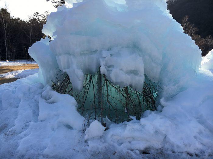 氷像の写真