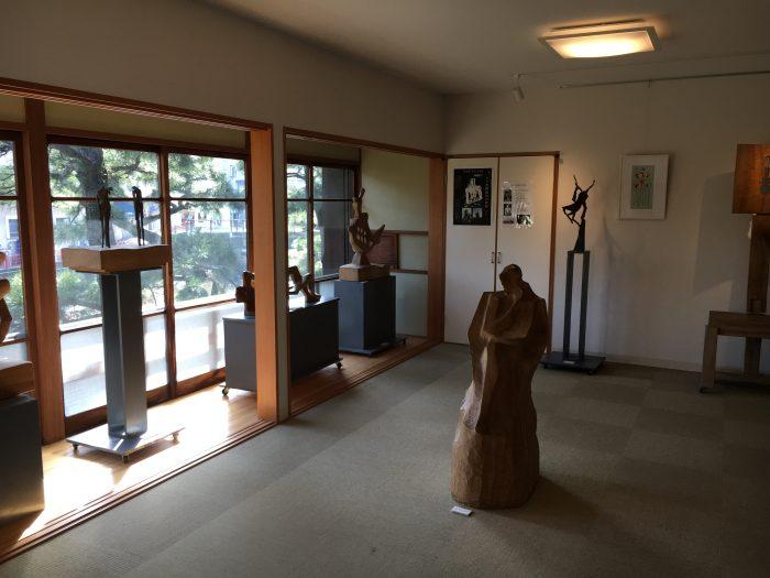 展示物の部屋の写真