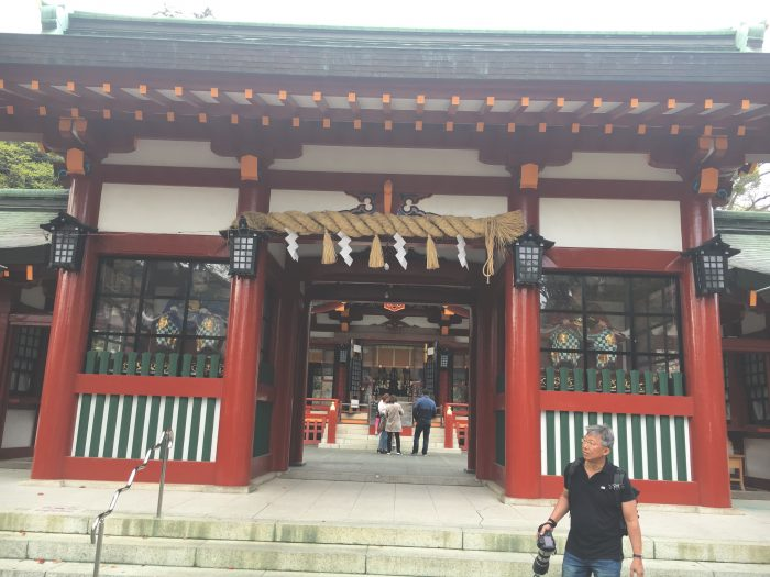 浅間大社の入り口写真