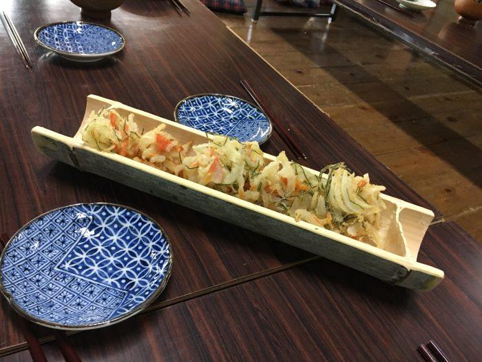山菜の天ぷら写真