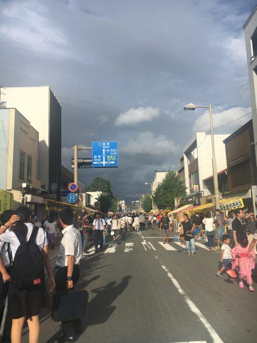 三島大祭りの様子の写真
