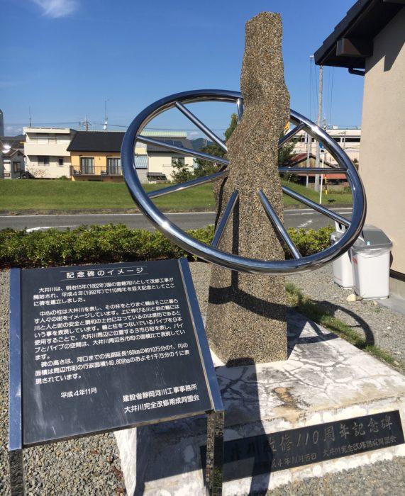 記念碑の写真
