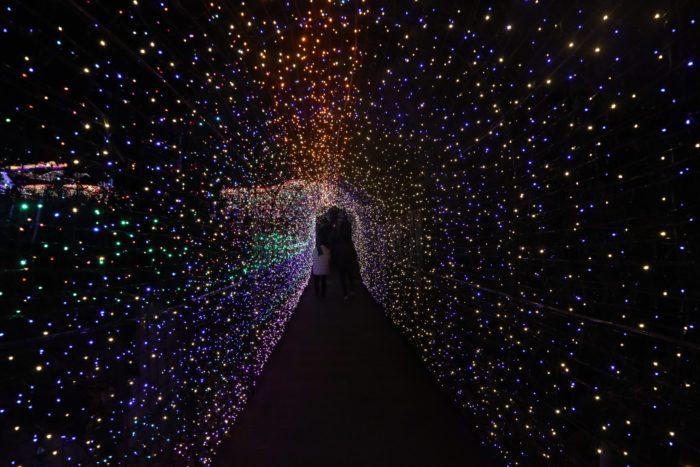 夢のトンネル写真
