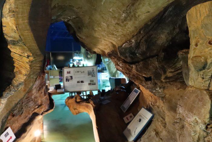 彫刻のトンネルの写真