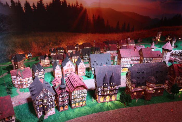 街の模型の写真
