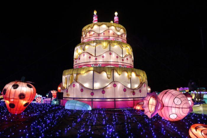 スイーツランタンのケーキの写真