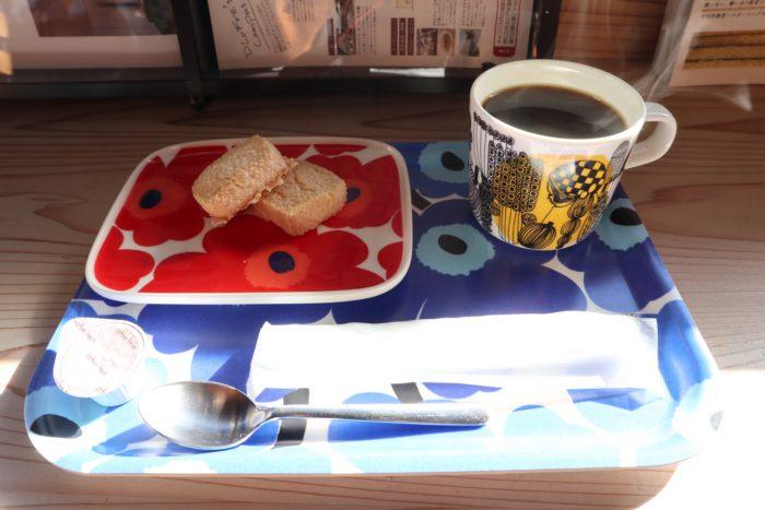 コーヒーセットの写真