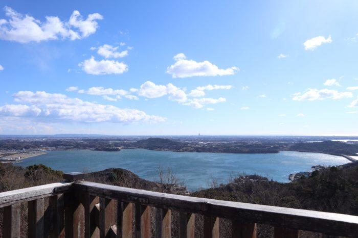 展望台からの景色の写真