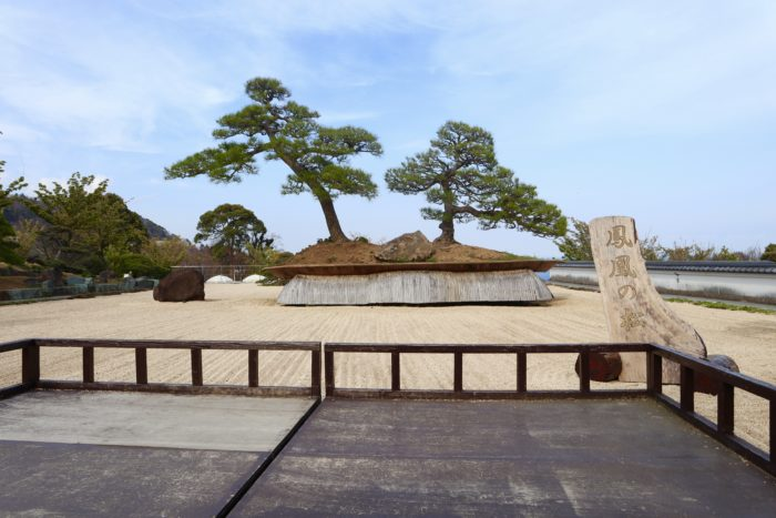 日本庭園の写真