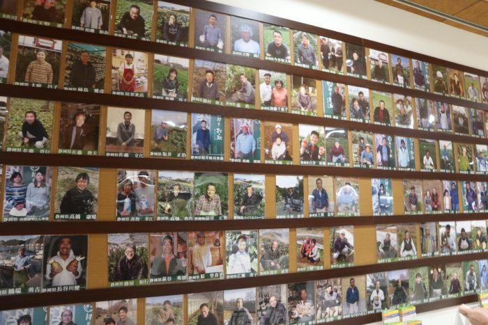 多数の農家さんの写真